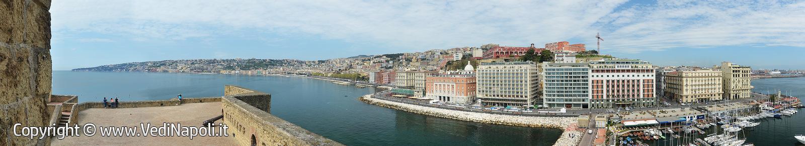 Panorama dal Castel dell'Ovo