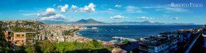 Golfo di Napoli da Via Ortensio