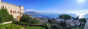 Panorama del Golfo e del Vesuvio dalla Certosa di San Martino